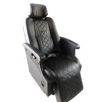 High Quality Passenger Seat with electric Footrest and massage for Luxury Car Motorhome