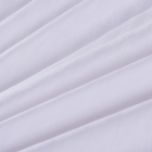 Good quality white plain satin king size bedsheet hospital hotel cotton bedsheet fabric