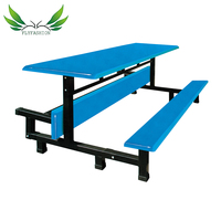 Simple Design School Canteen Table / Cheap Price Dining Table For School / Good Quality School Furniture