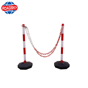 roadway safety lane guide removable reflective flexible traffic bollards