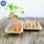Disposable Natural Kraft Snack Food Paper Tray