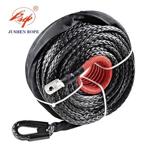 High quality long rope winch, synthetic winch rope