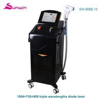 75w diode laser hair removal fda approved alexandrite depilation machine brown hair remover machine