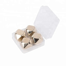 Or Rose Diamant pierres de whisky en acier inoxydable ensemble