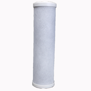 5 Micron 10inch CTO Activated Carbon Water Cartridge Filter for liquid prefiltration