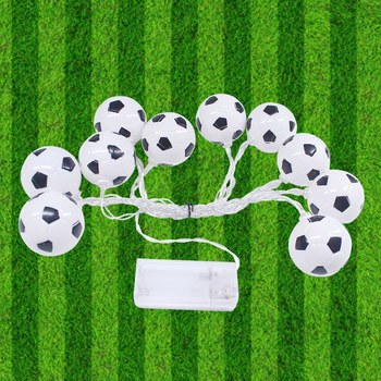 LED String Lights Waterproof Outdoor Festival Decorative 10/20LEDs Soccer Light Guirlande Lumineuse Led Fairy Light