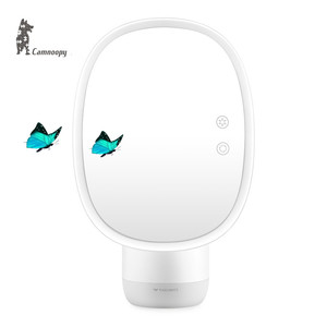 CE Certificated Hollywood Style LED lighted Makeup Mirror With Humidifier And 5X/7X Magnifying Mirror