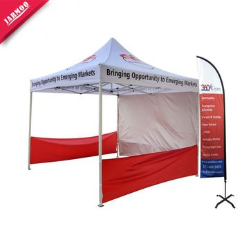 Toughening custom made tents 10x10ft customized logo pop up tent