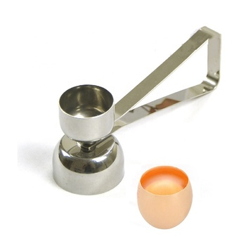 New Design Double Head 2 in 1 Egg Opener Topper For Different Sizes SW-KG212D