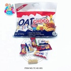 Halal OAT choco chocolate and milk mixed in a pack rich in fiber lower chocolate