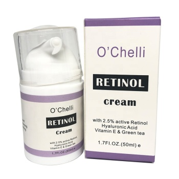 OEM/ODM Natural Skincare Cosmetics Vitamin A Anti Aging Moisturizer Private Label Face Retinol Cream