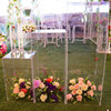 Wholesale Clear Acrylic Display Plinth Stand for Wedding and Birthday Party