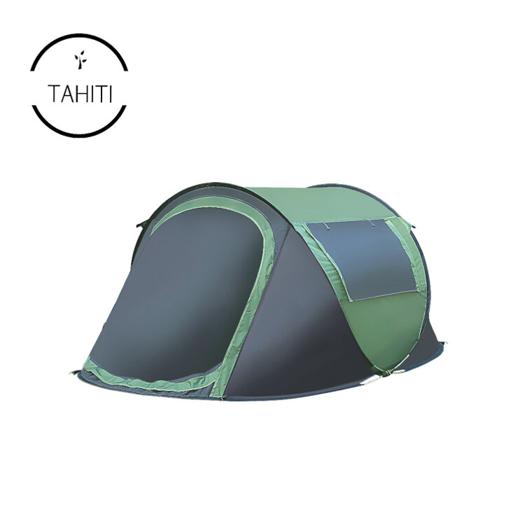 Outdoor Camping Sleeping Tent Foldable Waterproof Beach Tent for 2 Persons