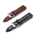 20mm black brown watch band alligator real cow leather crocodile bracelets low moq in stock genuine leather straps