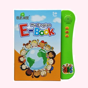 wholesale sale custom children foreign language learning aids cheap audio arabic/ french/ english/ spanish children\'s books