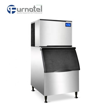 FURNOTEL 210KG Separate Type Industrial Ice Cube Making Machine Good Price (in Stock)