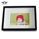 Solid wood home decoration 3D black deep shadow box picture frame for baby photos