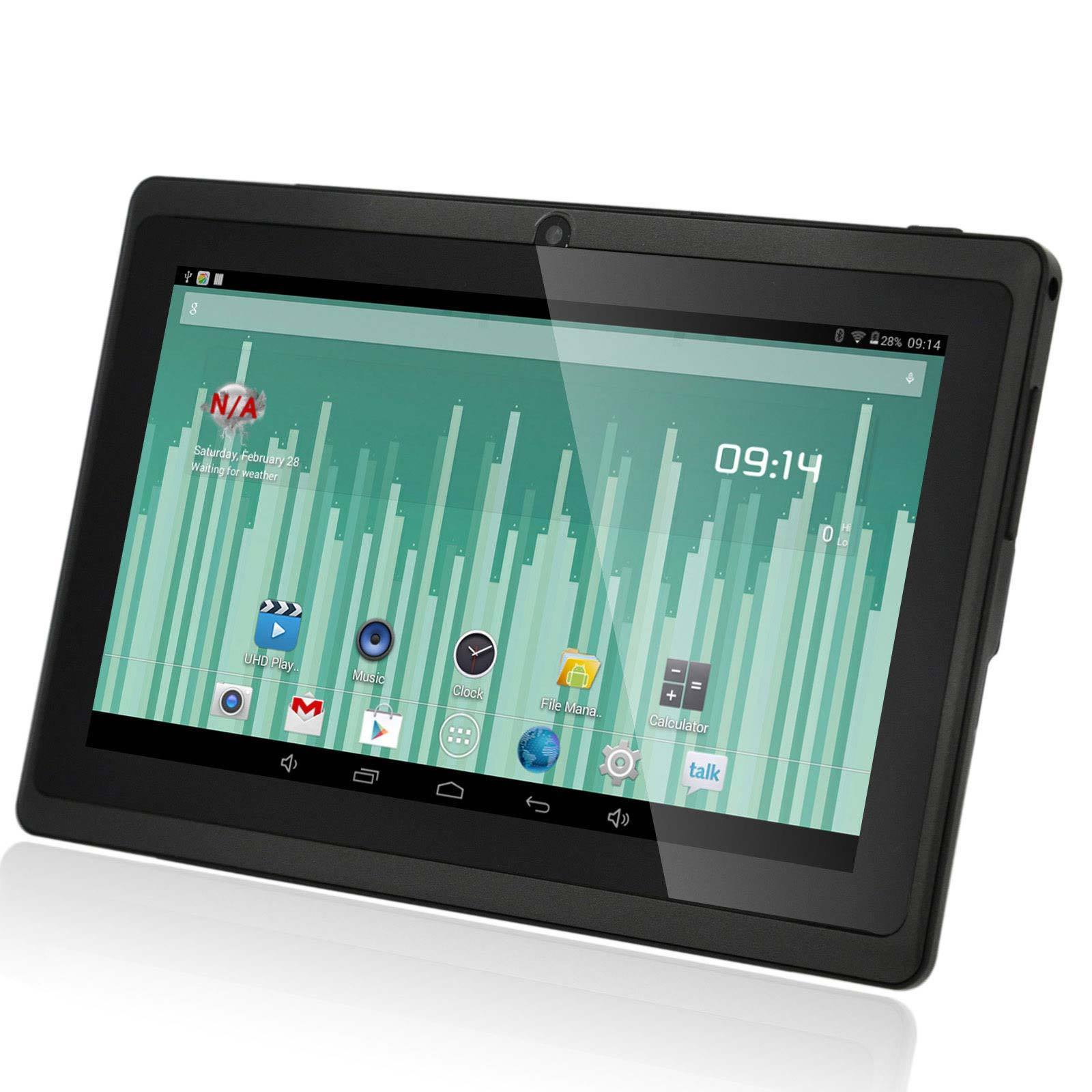 Fabrik Förderung Billig 7 Zoll Android Tablet PC Touchscreen WiFi Tablet 512 + 4 GB Android 4.4