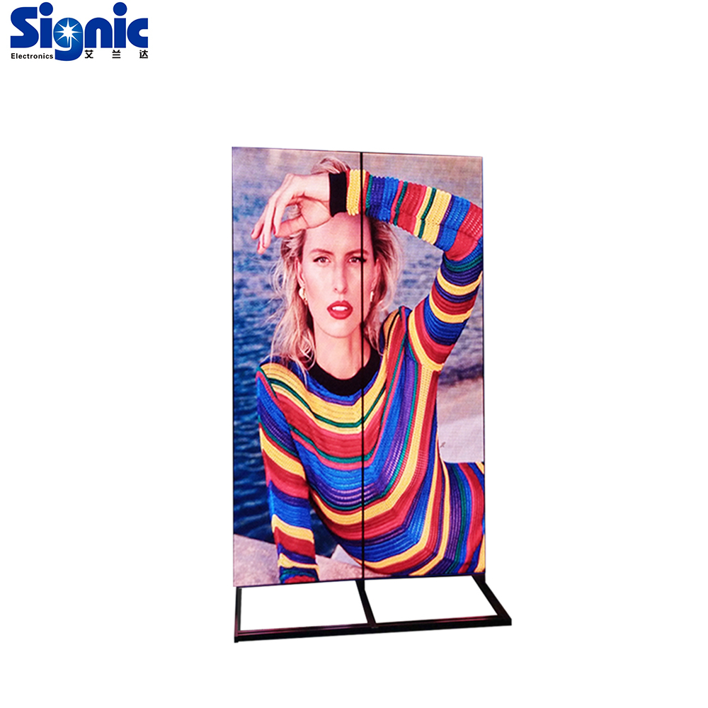 Volle farbe digitale werbung indoor elektronische display banner led poster