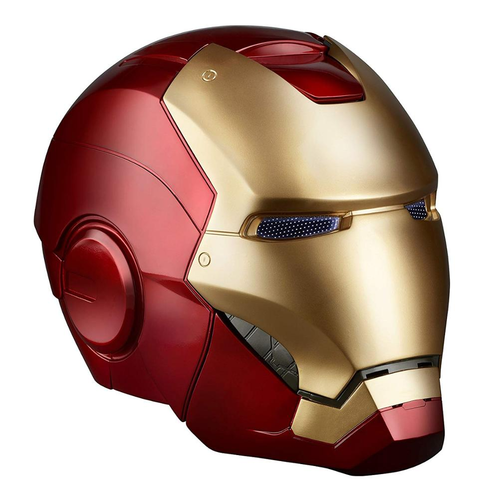 Personalizzato A Mano in resina dipinta a iron man casco statua Marvel action figure