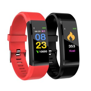Image of 115 PLUS Smart Watch Sport Watch Heart Rate Monitor Blood Pressure Fitness Tracker Smartwatch for ios android
