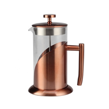 Heavy Duty Stainless Steel and Borosilicate Glass Plunger-1 Liter Luxury French Press Coffee & Tea Maker, 34 Oz, 8 Coffee Cup