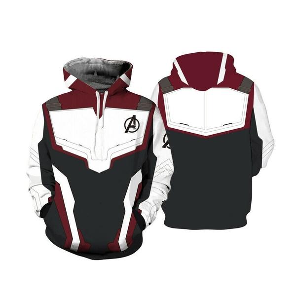 New Avengers Quantum Wardrobe 3d T-Shirt / Sweatshirt / Hoodie Super Hero Concept Hoodie Cosplay Costume фото