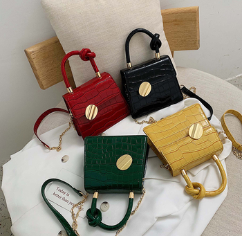 2019 New Design Stone Pattern Mini Crossbody Satchel Bag Pu Leather Fashion Ladies/Women Bag
