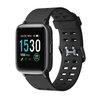 Amazon TOP Sale 2019 Sport Smart Watch ID205 Full Touch Screen Fitness Tracker Veryfitpro APP Multi Language