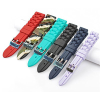 Hot Products Soft Silicone Watch Band Custom color Strap For Smart watch Bracelet