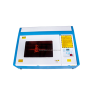 High professional popular rubber stamp 4030 laser engraving machine in stock