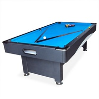 Billiards Sport 8Ft sizeSnooker Pool Table With Balls Auto-return System price