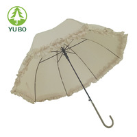 China factory direct sales bubble sun umbrella with purfle edge