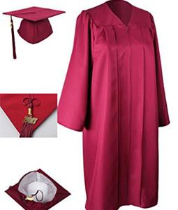 c11b7d3a5bc Matte College Graduation Gown