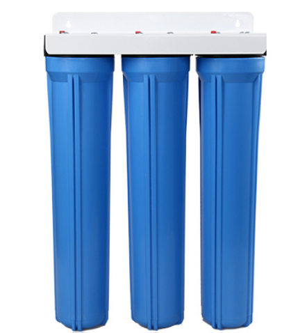 Pre water <strong>filtration</strong> 3 stage blue type 20 inch housing water filter with 20 inch PP UDF CTO