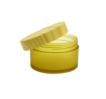 cream jar cosmetic packaging bottles cream jars plastic bamboo cosmetic packaging face cream jar for skin care 200g