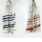 "Messianic Tallit Talit Prayer Shawl 22""x72"" with Matching Bag 100% Acrylic Muslim Tallit Prayer Shawl Arab Head Scarf"