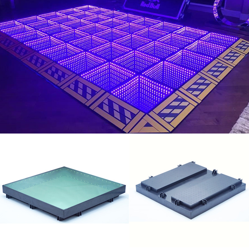China XLighting party light outdoor disco dj 3d led dance floors
