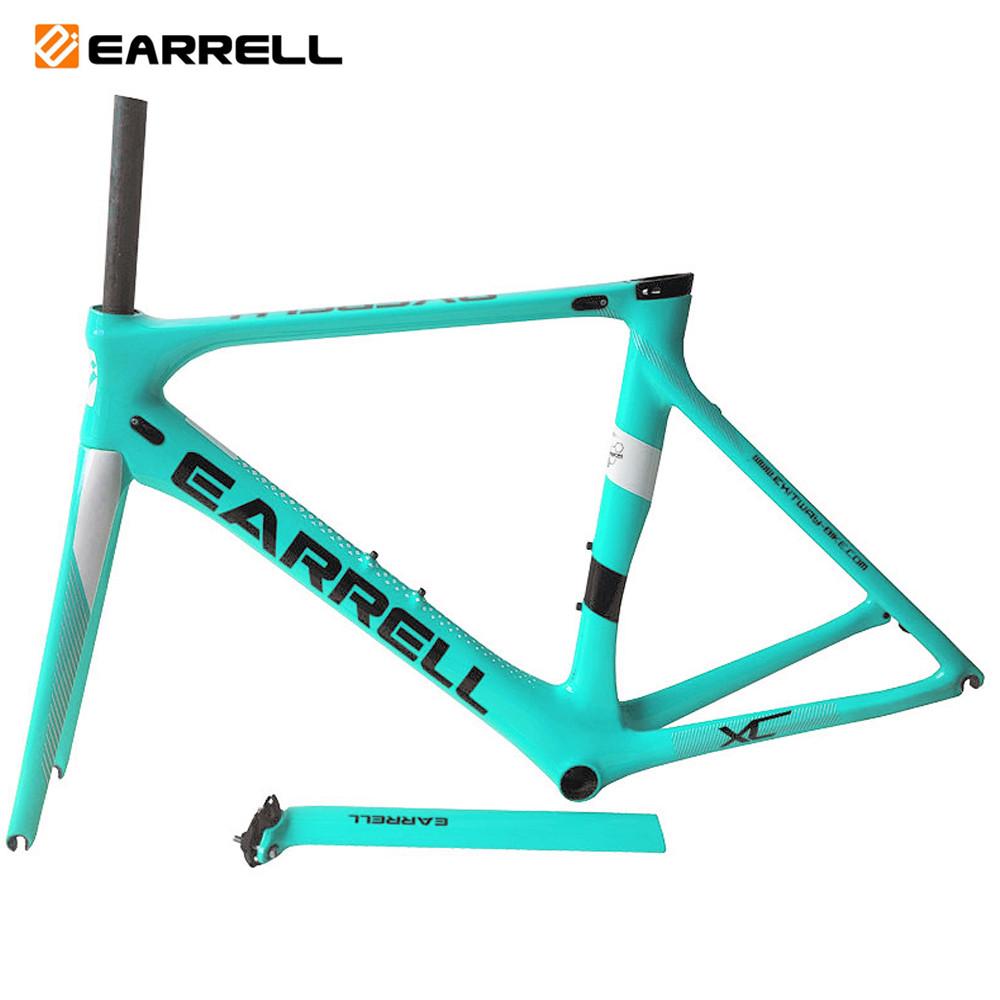 Surper-light bicycle frame Full carbon fiber road bike frameT800 BB86 50/53/56cm, Can be oem