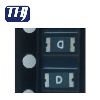 PTC Resettable Fuse 0.25A(hold) 0.5A(trip) 16VDC 100A 0.6W 0.08s 0.55Ohm SMD Solder Pad 1206 T/R RoHS 1206L025YR