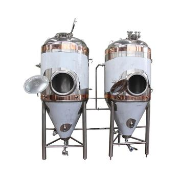 DYE 500L Stainless Steel Brewing Beer Fermenters Jacketed Fermentation Tank for Sale