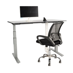 Electric Dual Motor Computer Desk Height Adjustable Sit Stand Office Tables