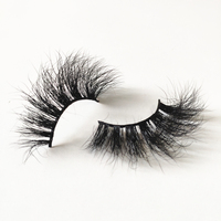 Alibaba Mink Lashes Supplier Private Label 3D Mink Eyelashes 100 Mink Own Brand Eyelashes With Custom Eyelash Packaging