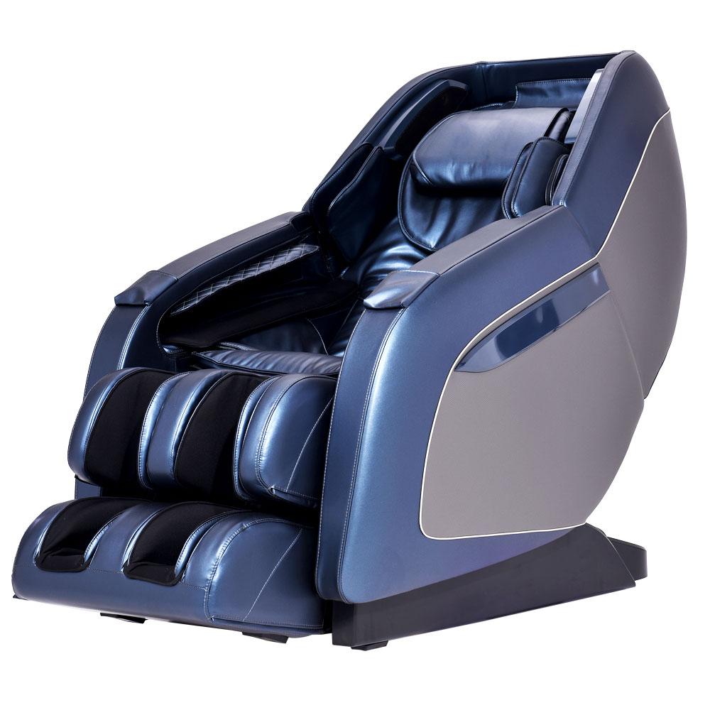 Idiva Indonesia 3d Face Body Massager: 3D انعدام الجاذبية القدم كرسي تدليك يفتح ليتحول لأريكة