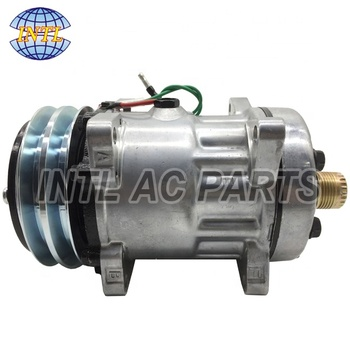Sanden SD7H15HD Universal Car auto ac compressor # 4744 4521 24V 125mm