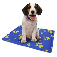 Dog Pet Cooling Gel Mat Pad Bed for Hot Summer Sleep Well Self Cooling Pet Mat for Floor Bed Crate Cool Dog