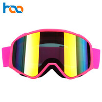 Wholesale Winter Sports Anti Fog Ski Mask Goggle Glasses