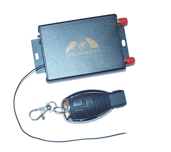 gps tracker with camera and dual sim card slot for vehicle long transportation gps105