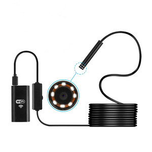 2019 new infrared waterproof otg driver usb endoscope camera 5m snak tube android external usb camera for android phone