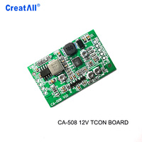 CA-508 12v Boost board module LCD TCON board VGL VGH VCOM.AVDD 4 adjustable LED TV power supply module board
